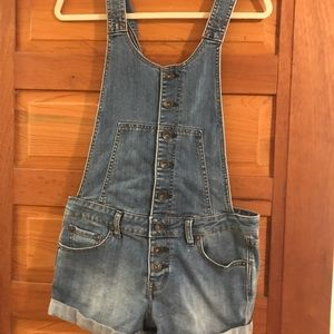 Free People denim overalls - 26